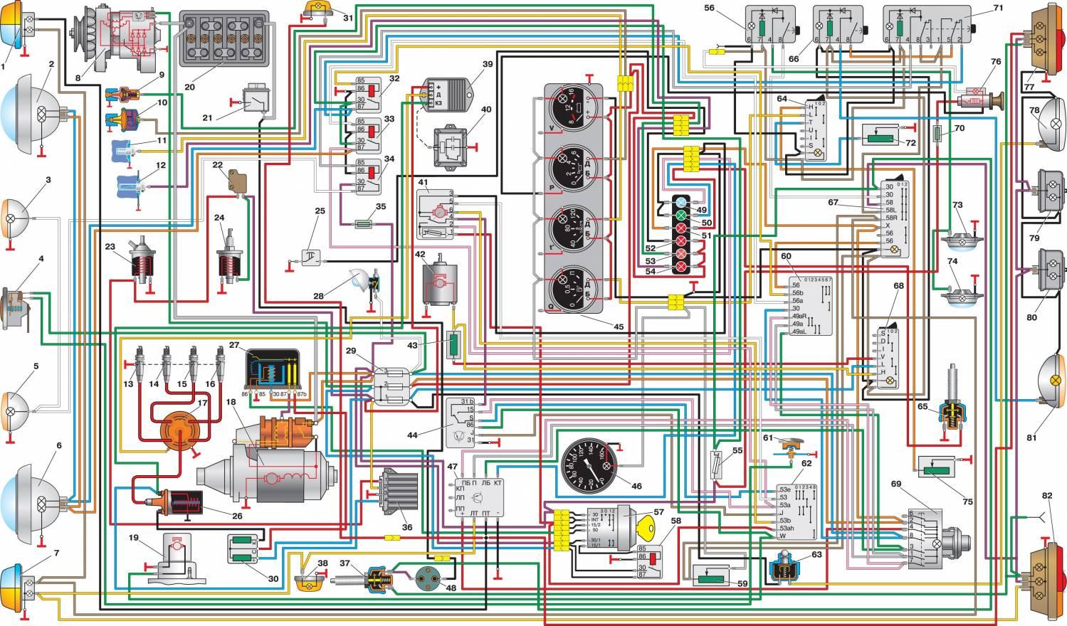 Стартер УАЗ: ремонт редукторного, схема подключения реле